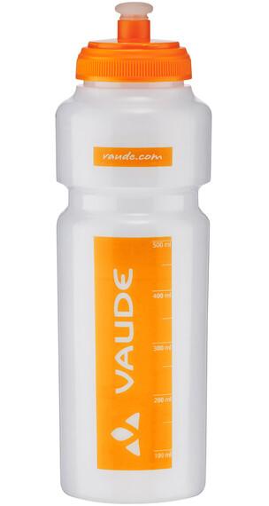 VAUDE Sonic Vannflaske 750ml Orange/Transparent